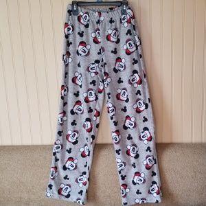 Disney pj pants Mickey Mouse Christmas size small